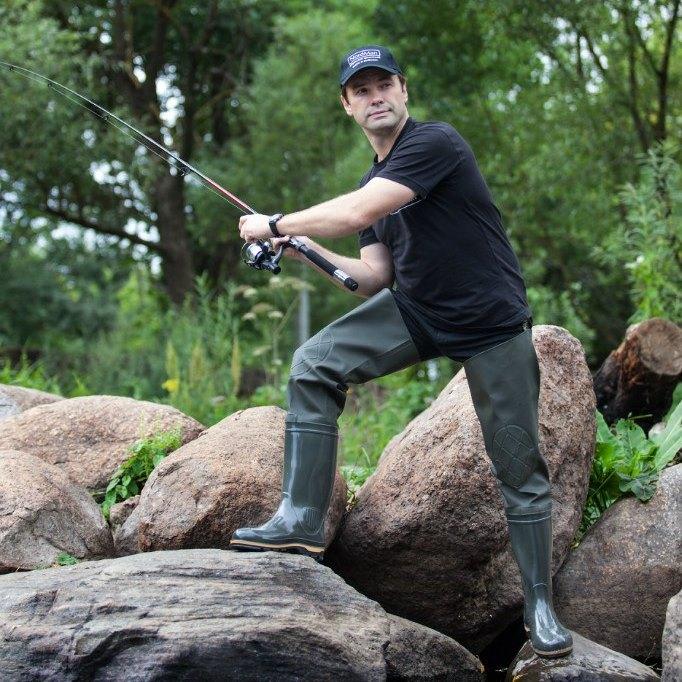Купить сапоги рыбацкие оптом по низким ценам с доставкой по России - обувь для рыбалки оптом